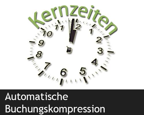 Automatische Buchungszeitenkompression