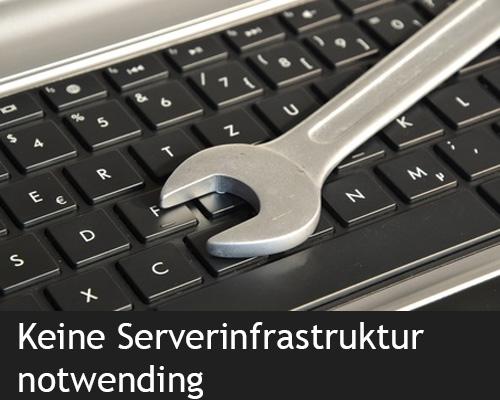 Keine Serverinstallation vor Ort